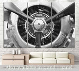 Aircraft Propeller №174 Ready to Hang Canvas Print