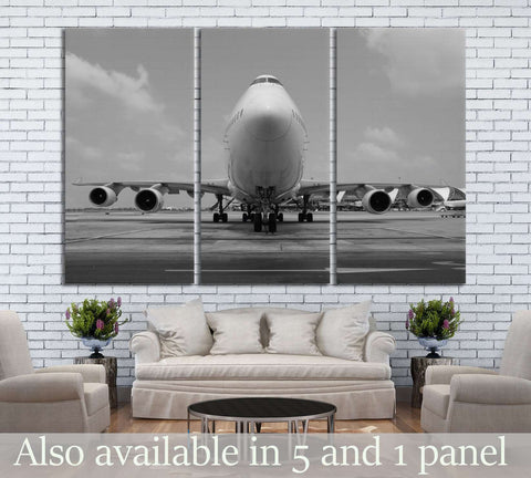 Airplane №143 Ready to Hang Canvas Print