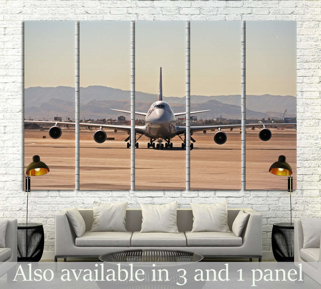 Airplane №145 Ready to Hang Canvas Print