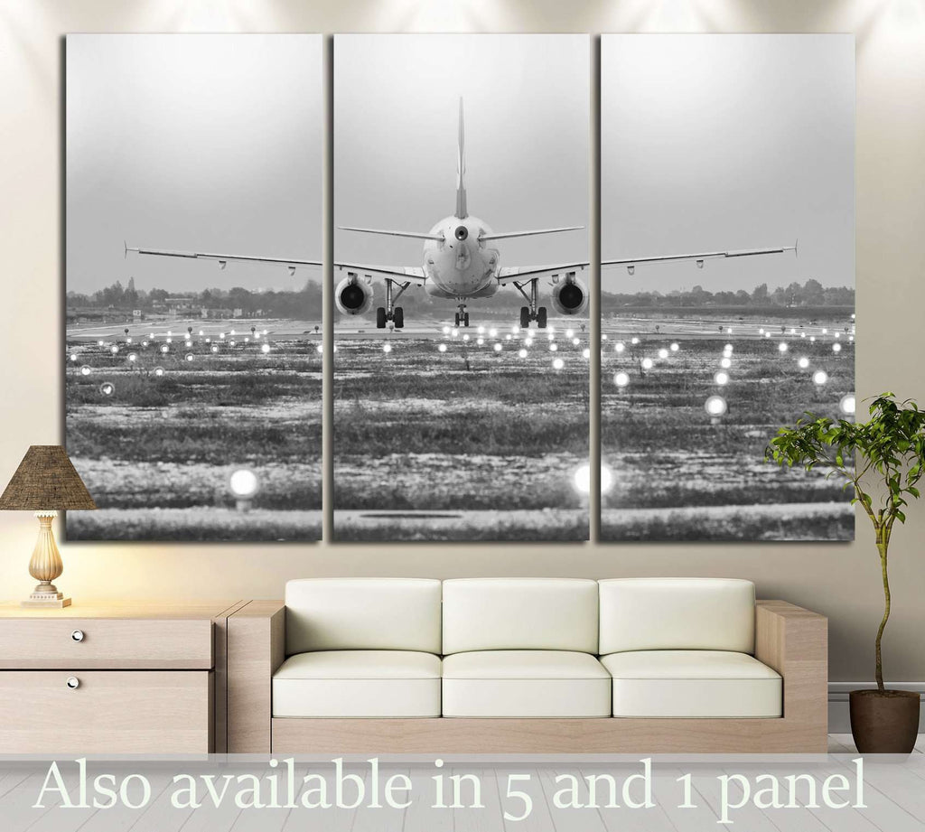Airplane №148 Ready to Hang Canvas Print