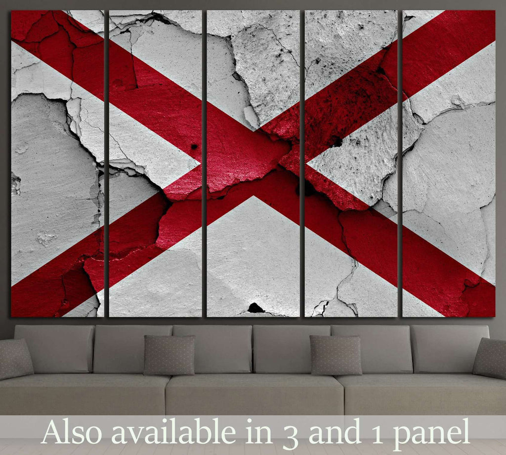 Alabama №653 Ready to Hang Canvas Print