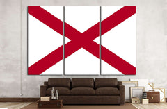 Alabama №673 Ready to Hang Canvas Print