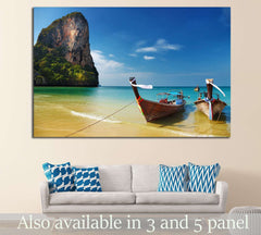 Andaman Sea, Thailand №643 - canvas print wall art by Zellart