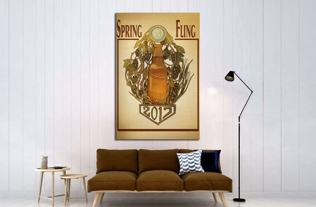 Art №3450 Ready to Hang Canvas Print