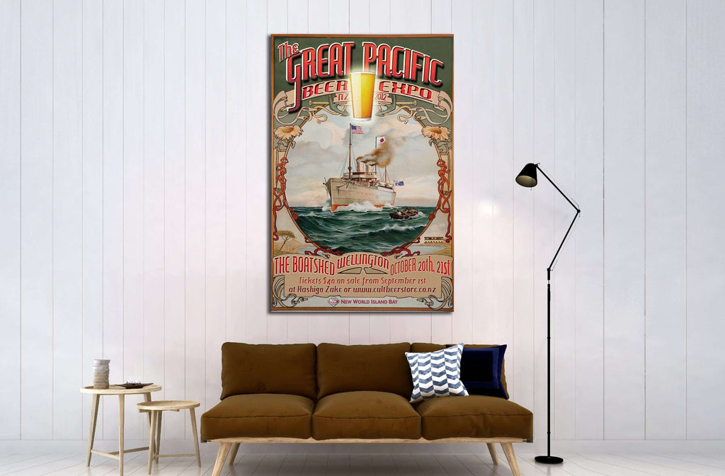 Art №3472 Ready to Hang Canvas Print