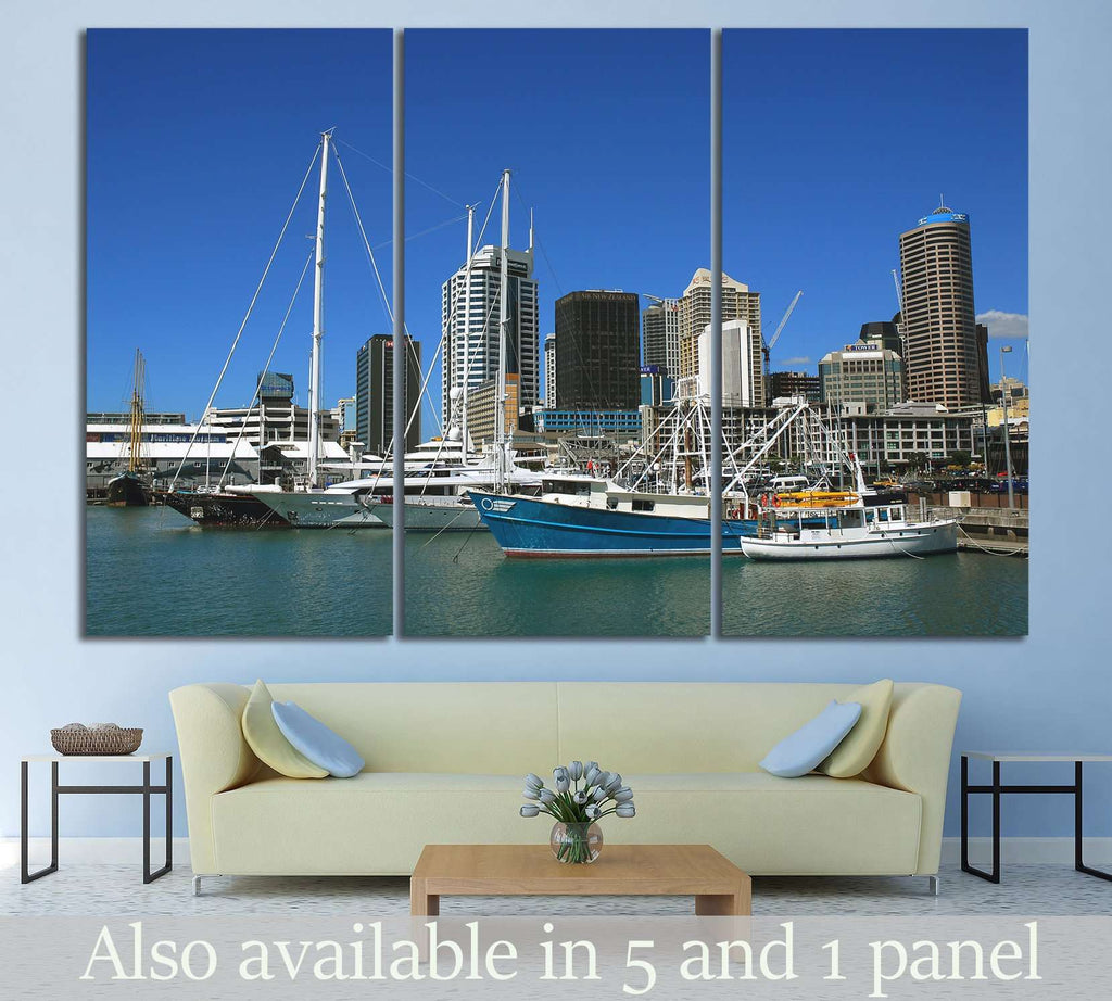 Auckland city, New Zealand №1138 Ready to Hang Canvas Print