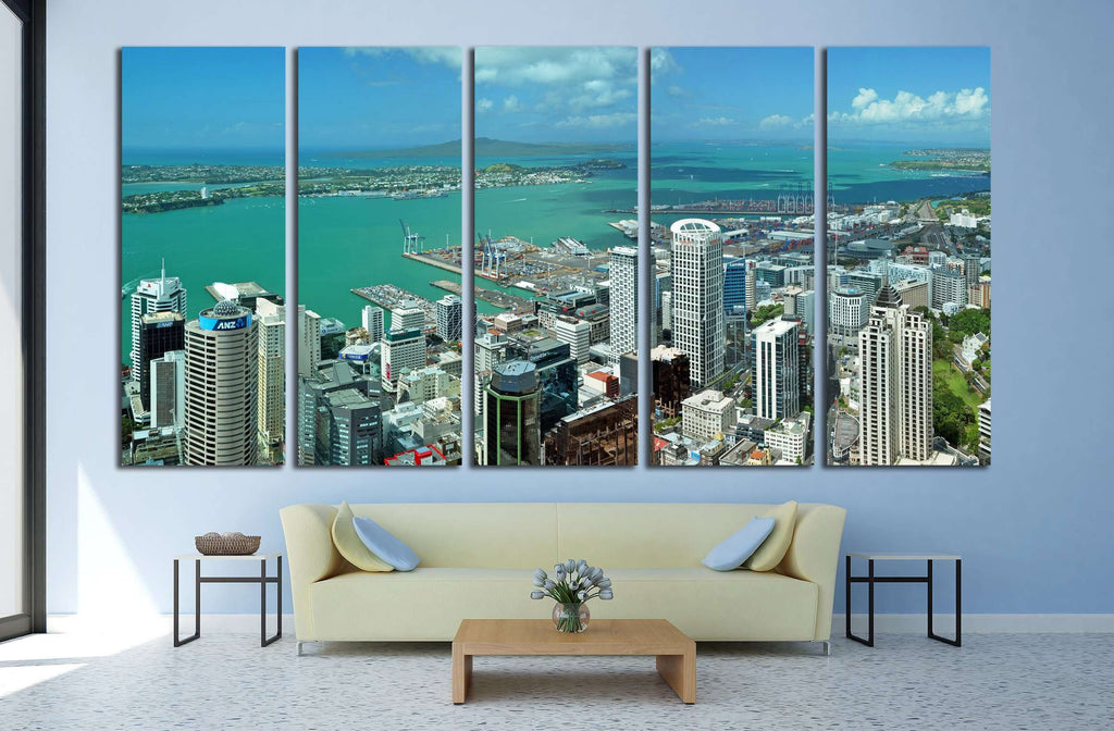 AUCKLAND, NEW ZEALAND №1630 Ready to Hang Canvas Print