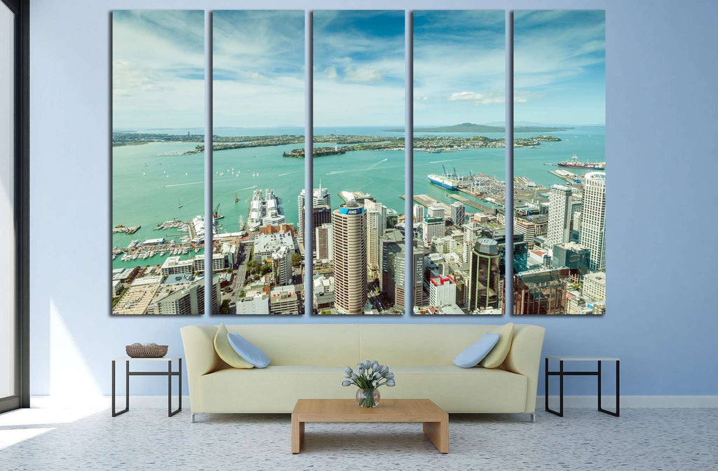 Auckland, New Zealand №1738 Ready to Hang Canvas Print