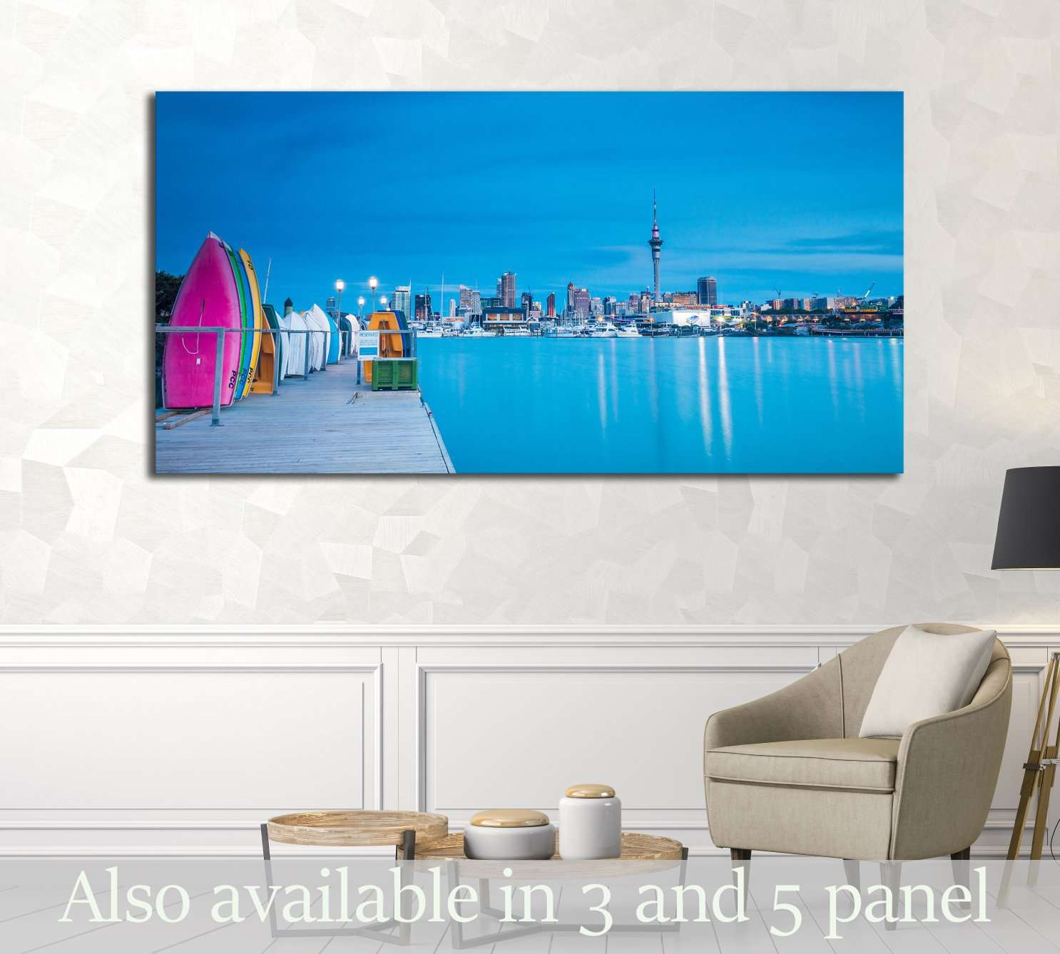AUCKLAND, NEW ZEALAND №1766 Ready to Hang Canvas Print