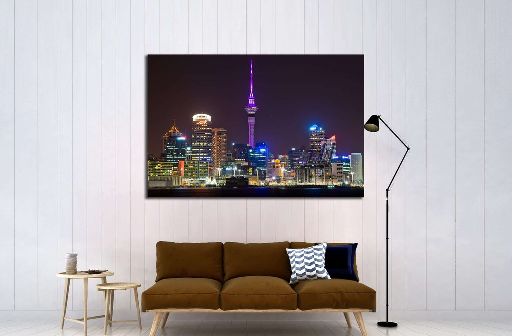 AUCKLAND, NEW ZEALAND, The Sky Tower №2270 Ready to Hang Canvas Print