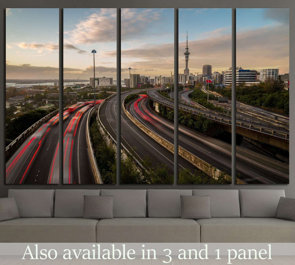 Auckland Sky Tower №2298 Ready to Hang Canvas Print