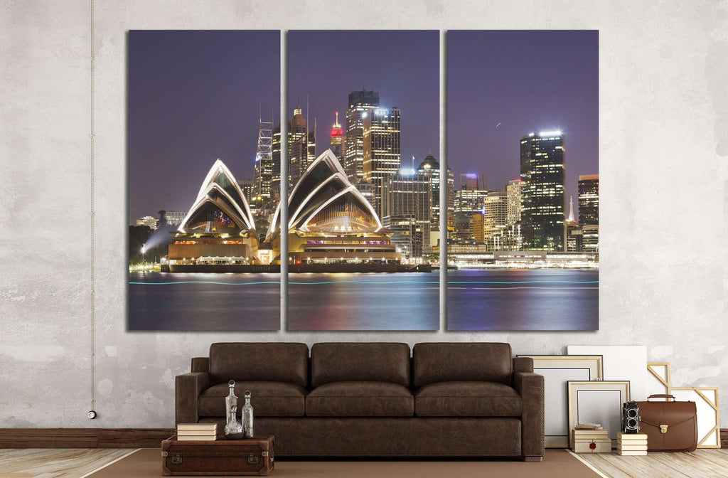 Australia, Sydney №1129 Ready to Hang Canvas Print