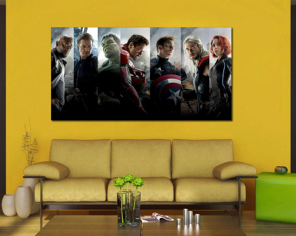 Avengers №2016 Ready to Hang Canvas Print