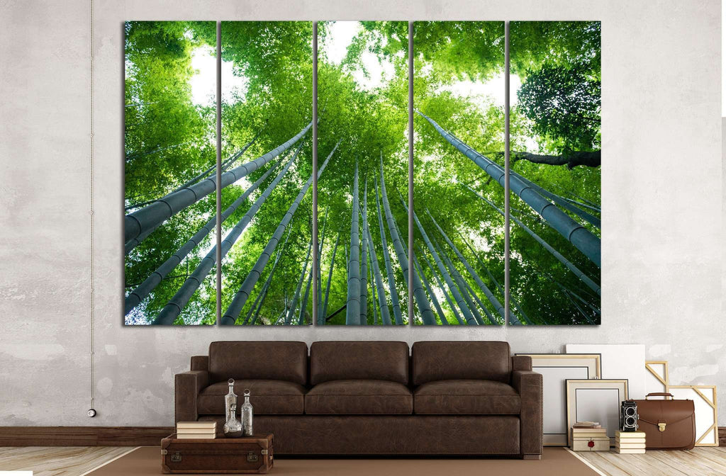 Bamboo forest, Kyoto, Japan №18 Canvas Print
