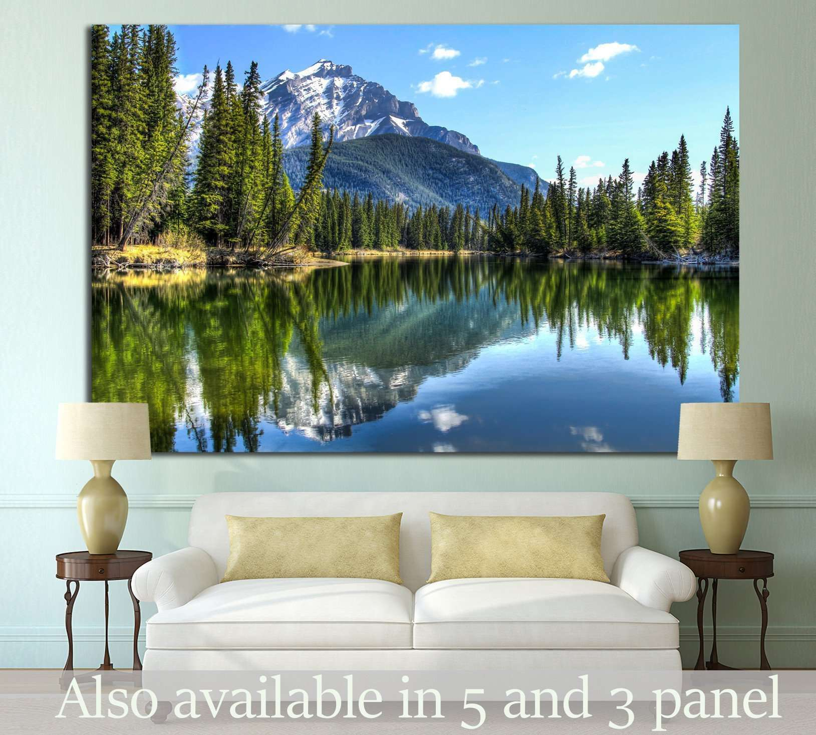 Banff National Park, Alberta, Canada №751 Ready to Hang Canvas Print