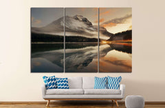 Banff National Park, Canada №878 Ready to Hang Canvas Print
