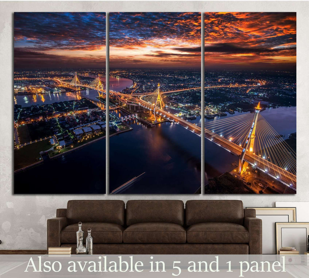 Bangkok City  №802 Canvas Print