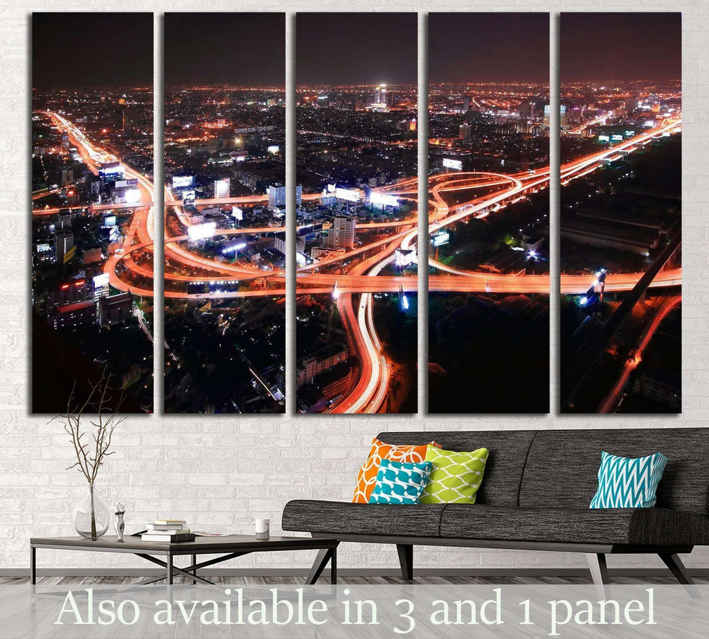 Bangkok №761 Ready to Hang Canvas Print
