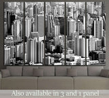 Bangkok skyline, Thailand №778 Ready to Hang Canvas Print