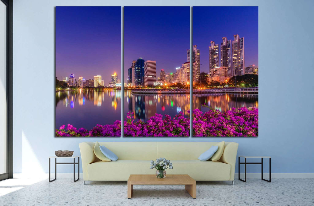 Bangkok, Thailand №829 Ready to Hang Canvas Print