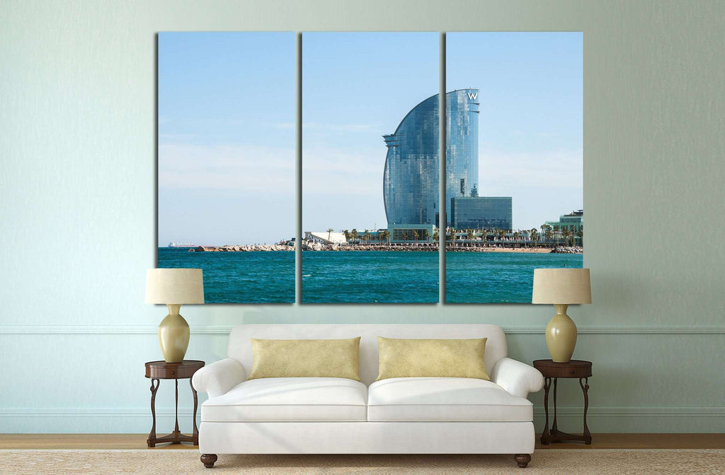 BARCELONA, SPAIN №1198 Ready to Hang Canvas Print