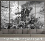 Barcelona, Spain №1813 Ready to Hang Canvas Print