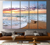 Beach Print №751 Ready to Hang Canvas Print