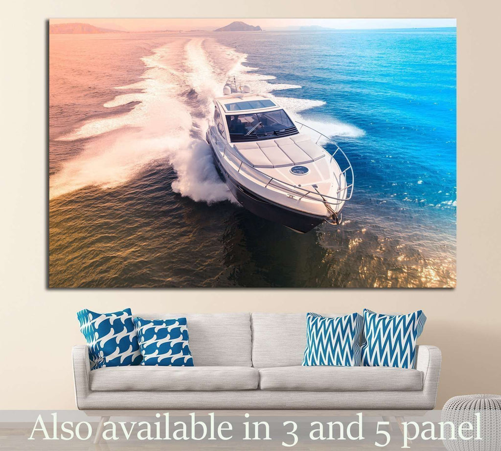 Beautiful Boat №209 Ready to Hang Canvas Print