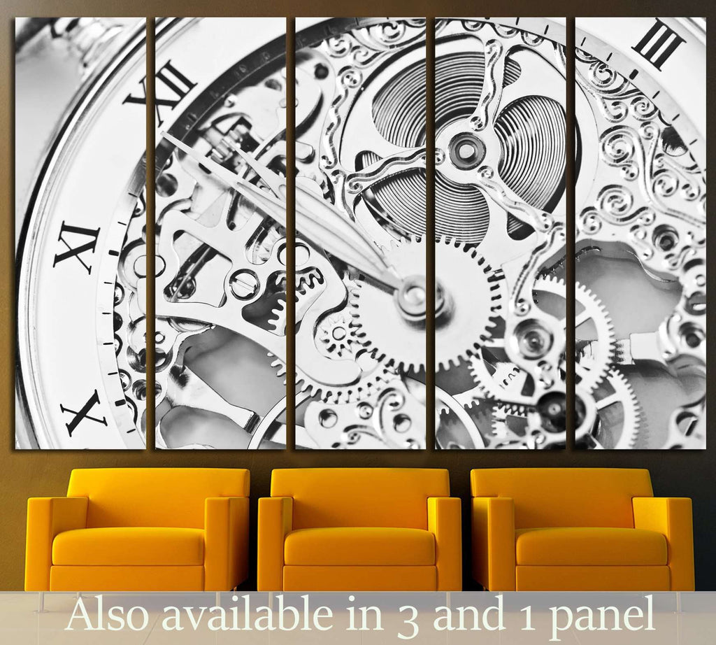 Beautiful Clockwork №221 Ready to Hang Canvas Print