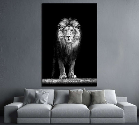 Beautiful Lion №189 Ready to Hang Canvas Print