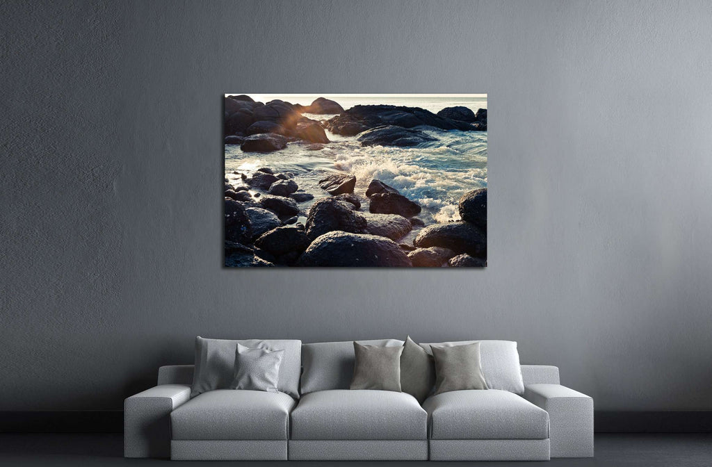 Beautiful tropical beach. Thailand №3143 Ready to Hang Canvas Print