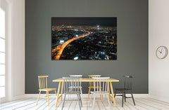 beautifully city №2407 Ready to Hang Canvas Print