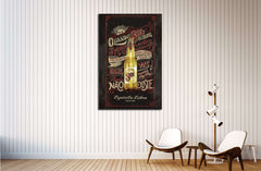 Beer №3418 Ready to Hang Canvas Print