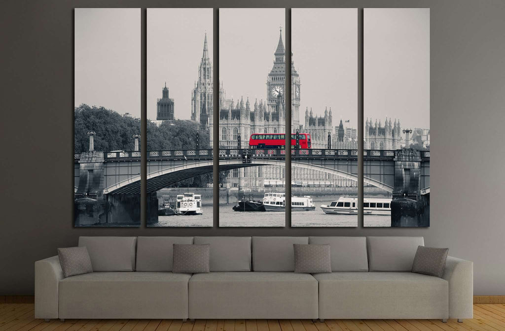 Big Ben №562 Ready to Hang Canvas Print