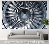 Big Propeller №176 Ready to Hang Canvas Print