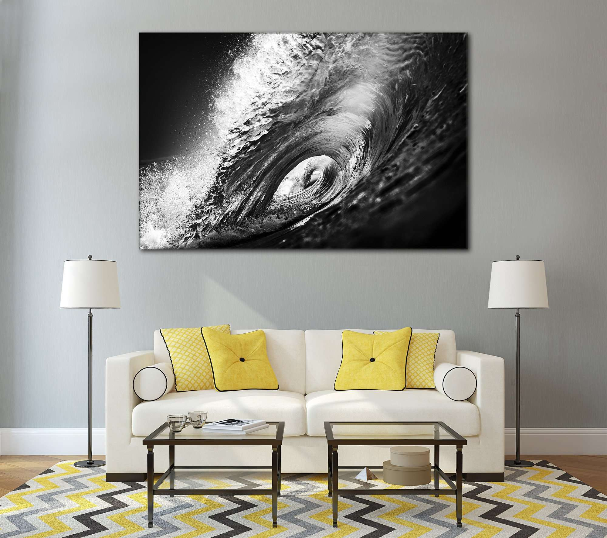 & Black u0026 White Wall Art at Zellart Canvas Arts