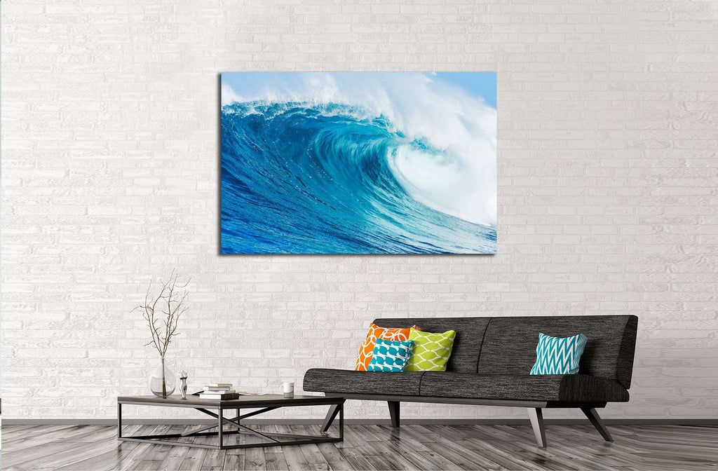 Blue Ocean Wave №2692 Ready to Hang Canvas Print
