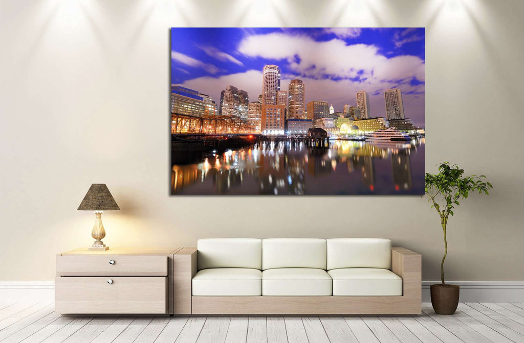 Boston Skyscraper №128 Ready to Hang Canvas Print