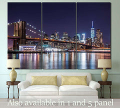 Brooklyn Bridge №120 Ready to Hang Canvas Print