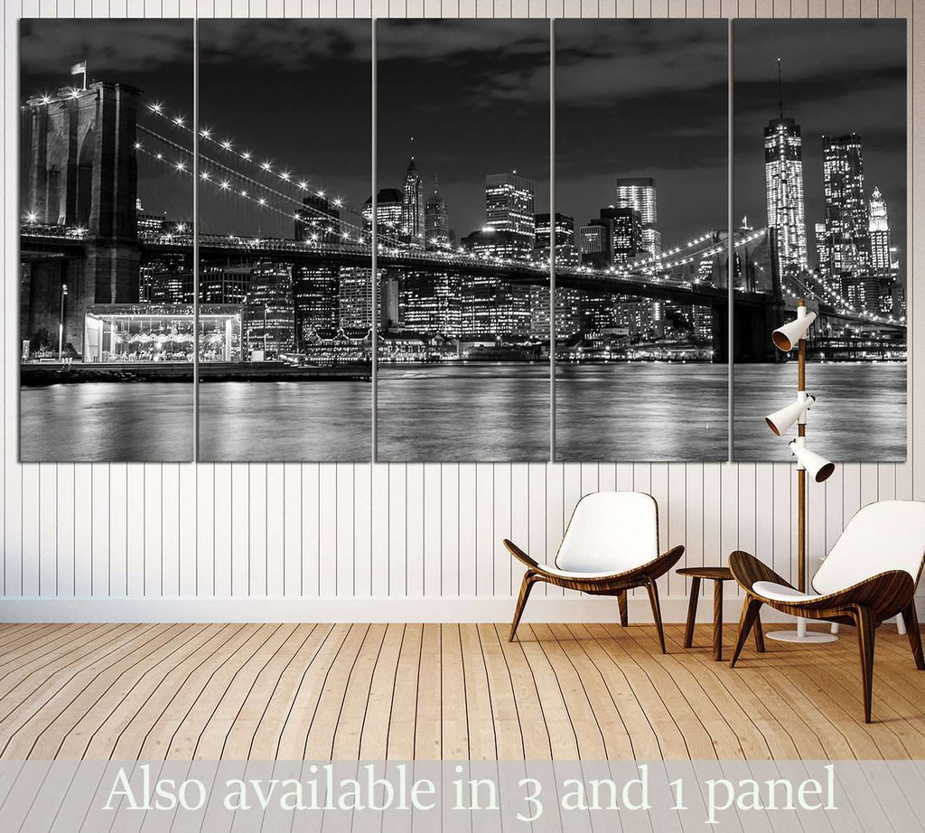 Brooklyn Bridge №3002 Ready to Hang Canvas Print