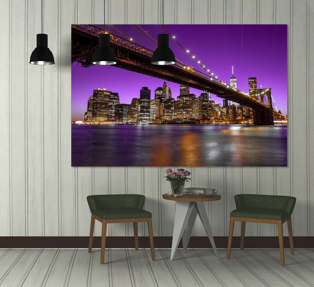 Brooklyn Bridge №3016 Ready to Hang Canvas Print