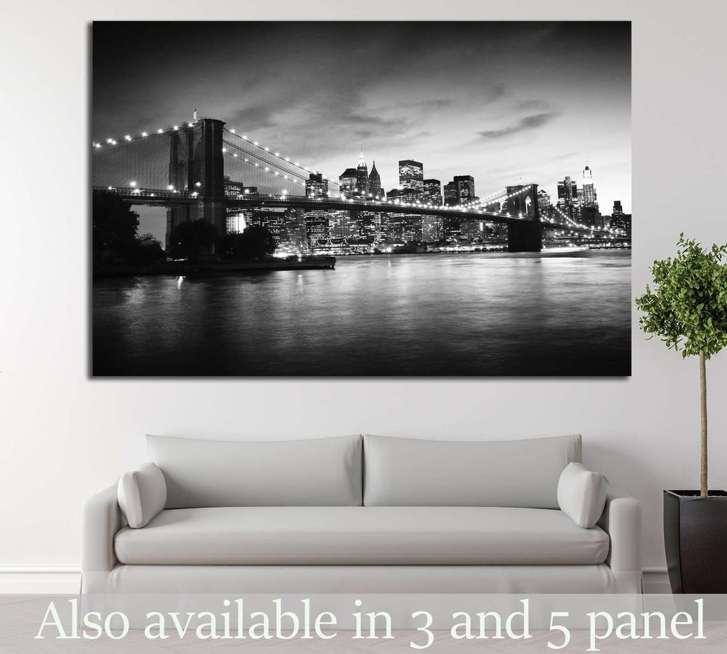 Brooklyn Bridge №775 Ready to Hang Canvas Print