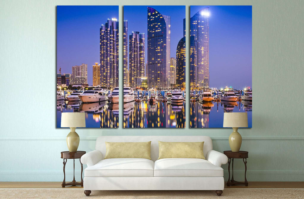 Busan South Korea №525 Ready to Hang Canvas Print