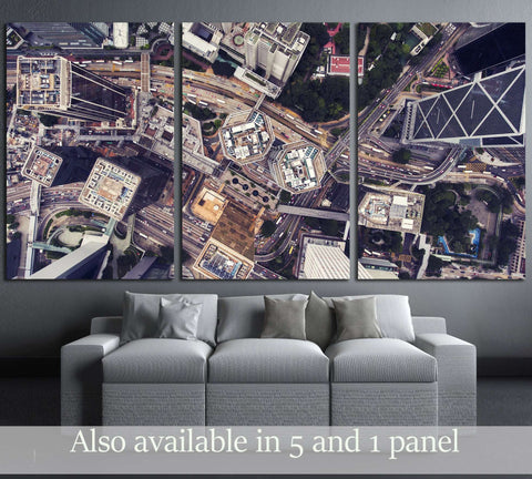 Business center in Shanghai China №2979 Ready to Hang Canvas Print