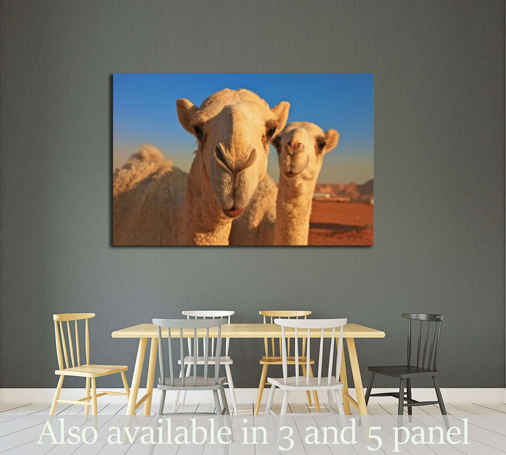 camel №2343 Ready to Hang Canvas Print
