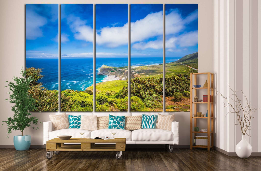 Cape Point , South Africa №627 Ready to Hang Canvas Print