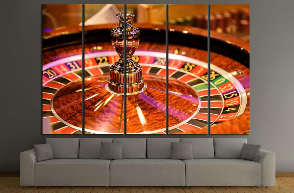 Casino №728 Ready to Hang Canvas Print
