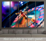 Casino Roulette №546 Ready to Hang Canvas Print