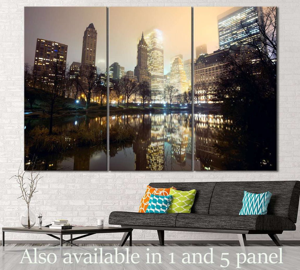 Central Park New York №115 Ready to Hang Canvas Print