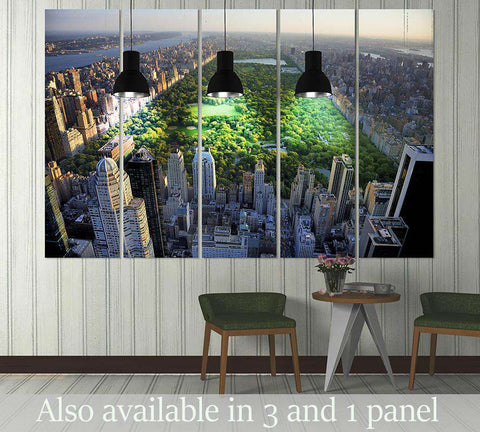 Central Park New York №3001 Ready to Hang Canvas Print